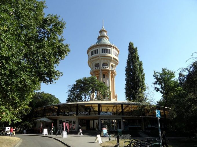 budapest water tower