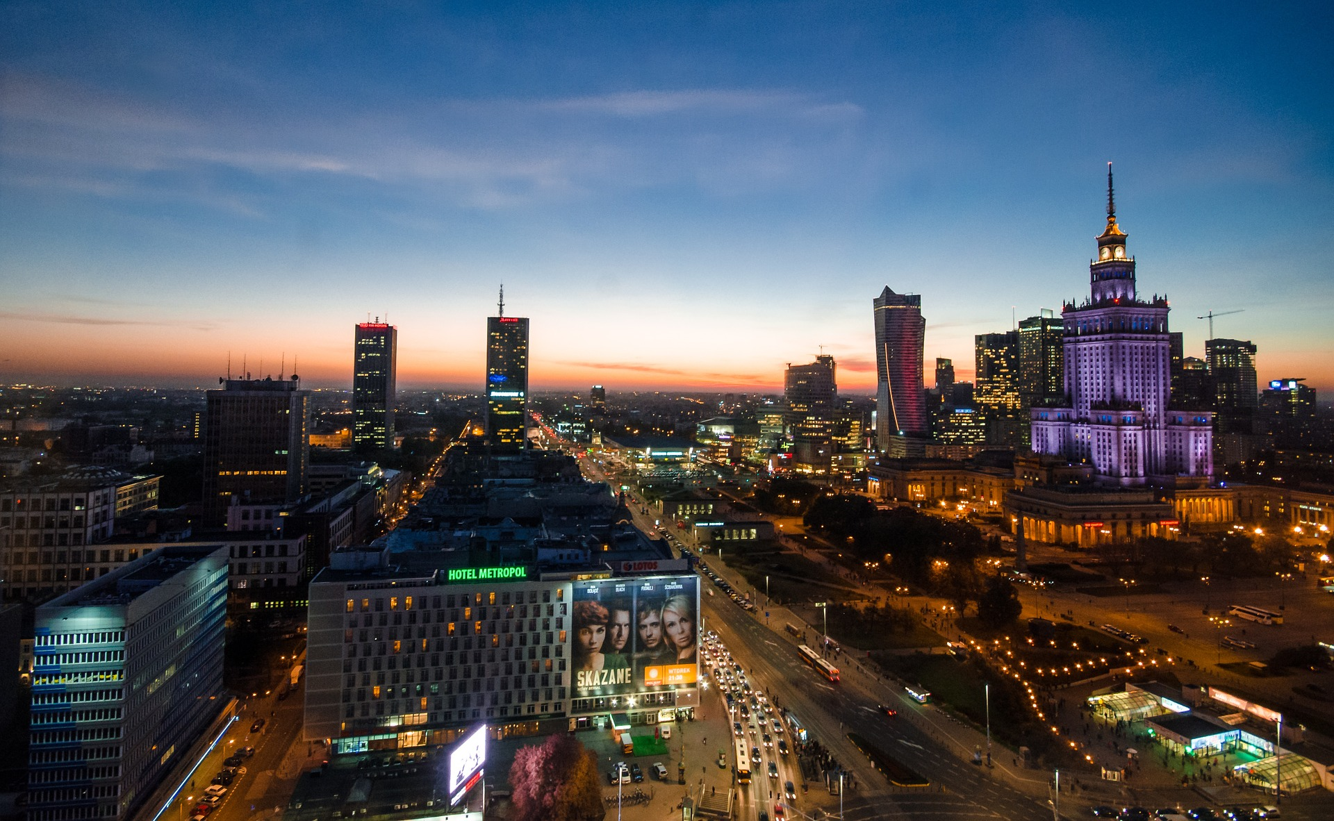 Hotels in Warsaw, Poland